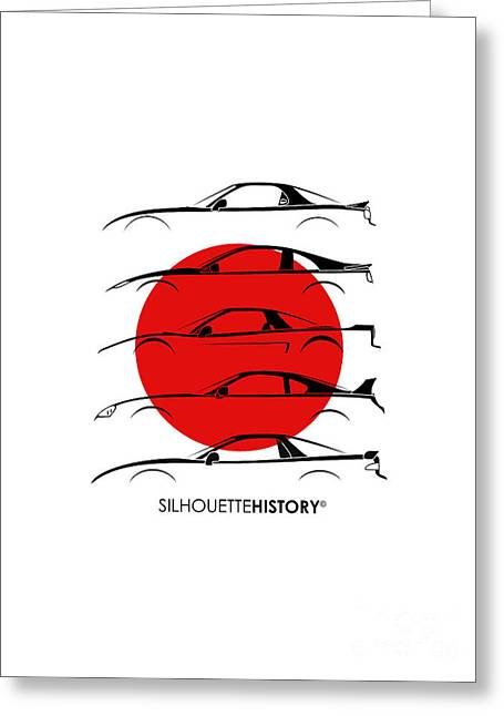 Rice Bomber Silhouettehistory Greeting Card by Gabor Vida