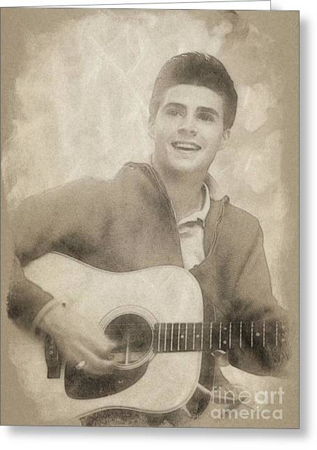 Ricky Nelson, Music Legend By John Springfield Greeting Card