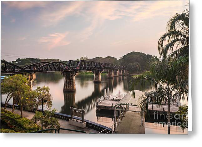River Kwai Bridge Greeting Card