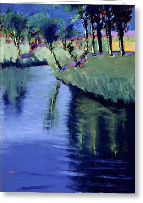 River  Greeting Card by Paul Powis