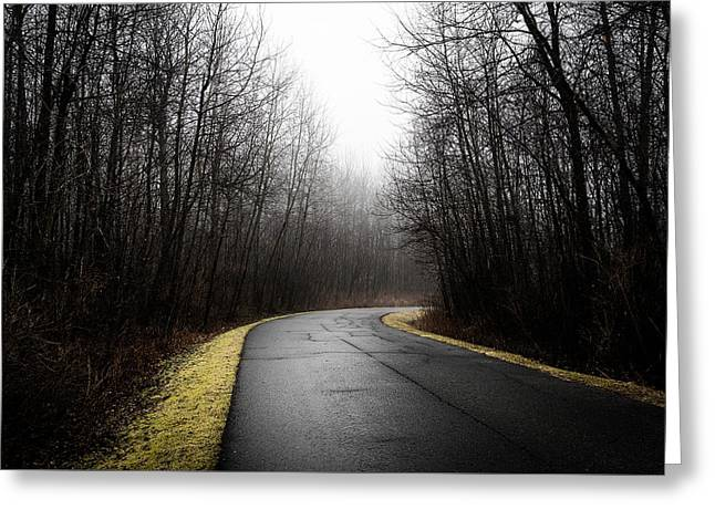 Roads To Nowhere Greeting Card