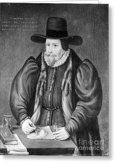 Robert Fludd, Physician, Astrologer Greeting Card