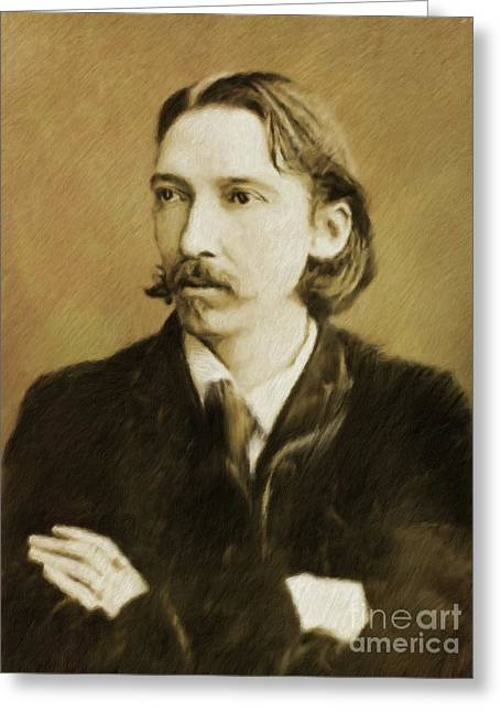 Robert Louis Stevenson, Literary Legend Greeting Card