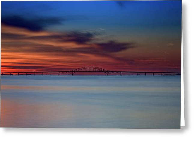Robert Moses Causeway Greeting Card by Rick Berk