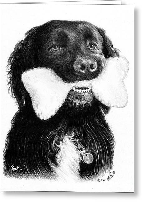 Rockie  Greeting Card