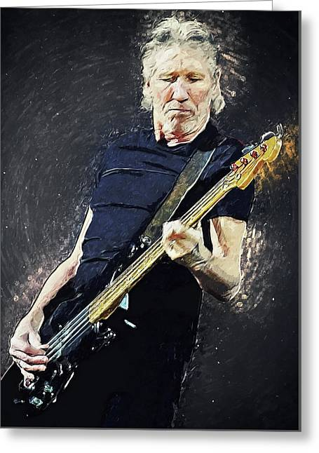 Roger Waters Greeting Card