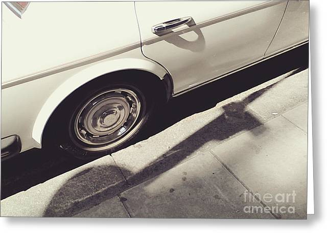 Greeting Card featuring the photograph Rolls Royce Baby by Rebecca Harman