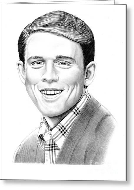 Ron Howard Greeting Card by Murphy Elliott
