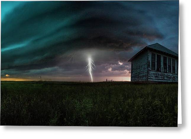 Greeting Card featuring the photograph Rose Hill  by Aaron J Groen