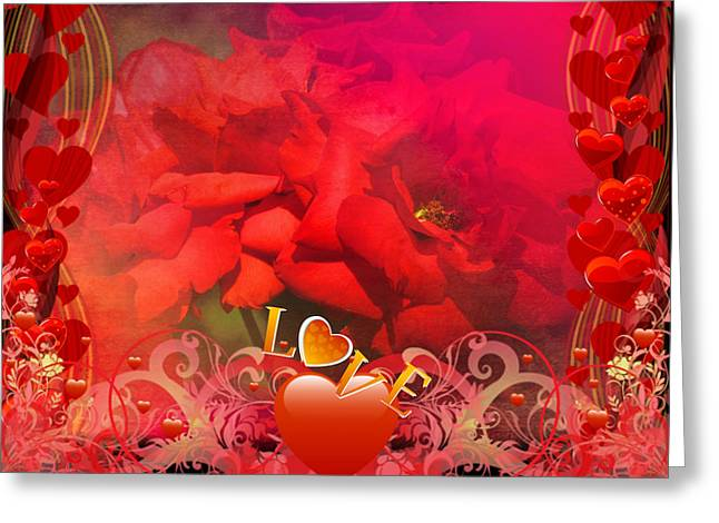 Roses For You Greeting Card