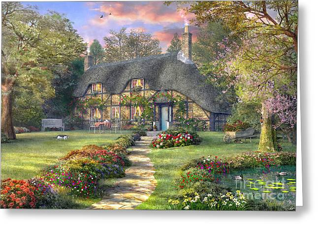 Rosewood Cottage Greeting Card