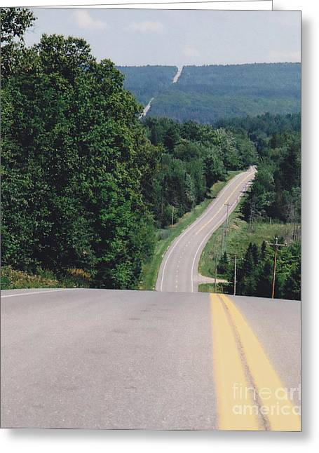 Route 6 Greeting Card by Lewis Lowell
