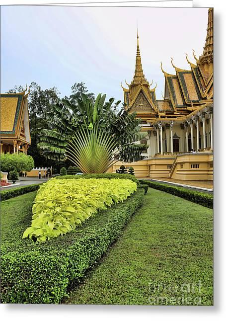 Royal Palace IIi Greeting Card