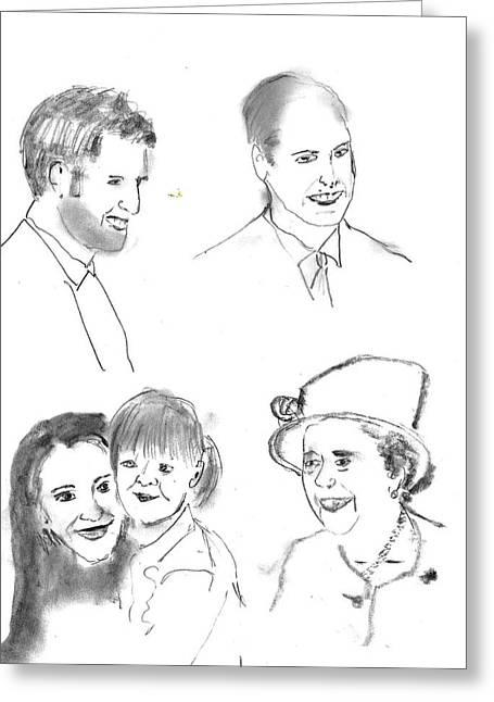 Royals Greeting Card
