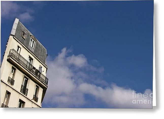 Rue Lepic Greeting Card by Patrick Power