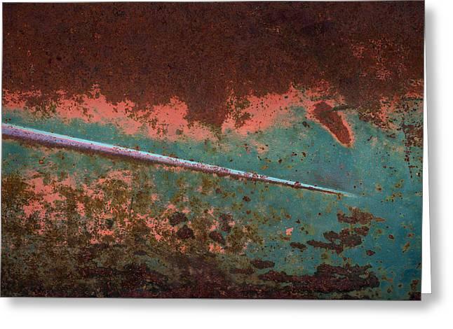 Rust Greeting Card by Christian Heeb
