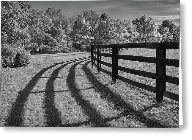 Rustic serenity photograph by eleanor bortnick - Rustic wood fences a pastoral atmosphere ...