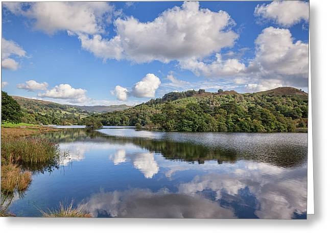 Rydal Water, English Lake District Greeting Card by Colin and Linda McKie