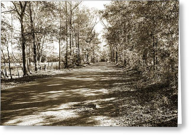 Sabine River Near Big Sandy Texas Photograph Fine Art Print 4105 Greeting Card by M K  Miller