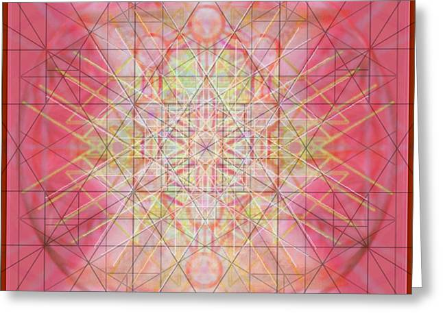 Sacred Symbols Out Of The Void 1b Greeting Card by Christopher Pringer