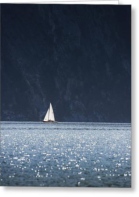 Sailboat Greeting Card by Chevy Fleet