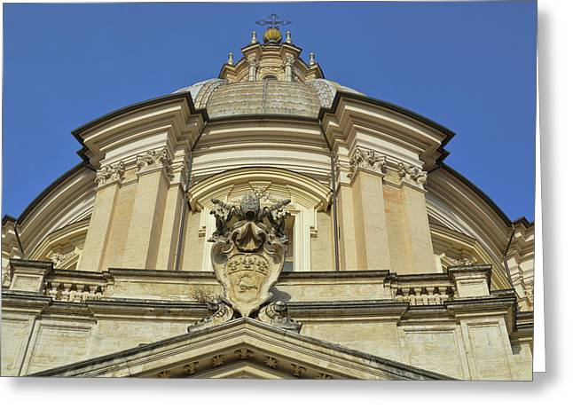 Saint Agnes Dome Greeting Card by JAMART Photography