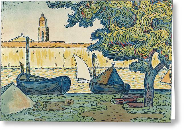 Saint-tropez Greeting Card