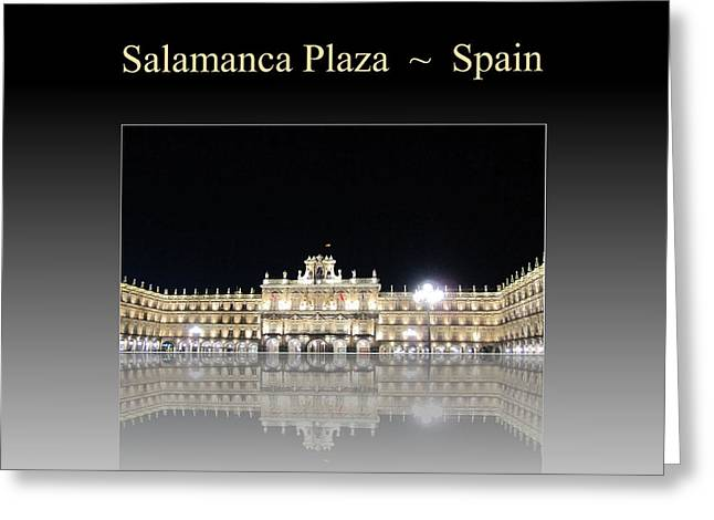 Salamanca Plaza Spain Greeting Card