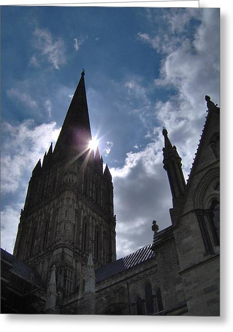 Salisbury Sunburst Greeting Card