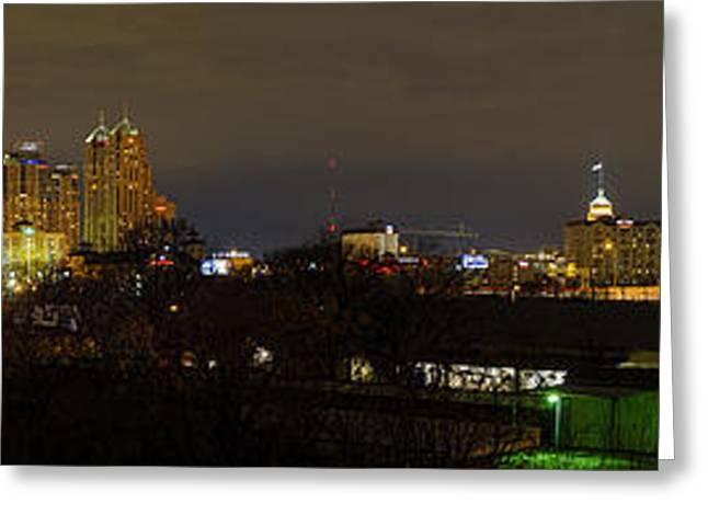 San Antonio Panorama Greeting Card