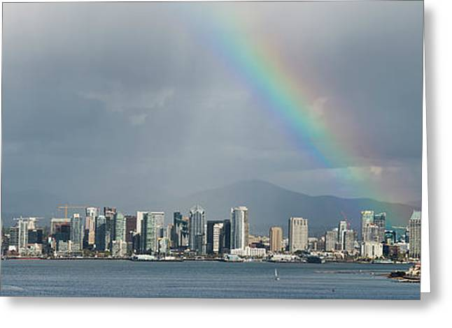 Greeting Card featuring the photograph San Diego by Dan McGeorge