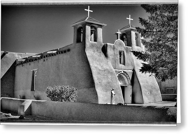 San Francisco De Asis Mission Church Greeting Card by David Patterson