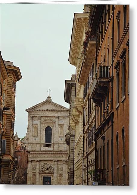San Giovanni Dei Fiorentini Greeting Card by JAMART Photography