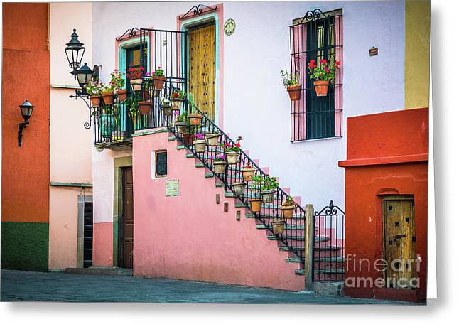 San Roque Stairs Greeting Card