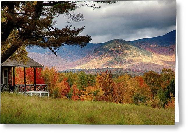 Sandwich Mountain Range Greeting Card by Jeff Folger