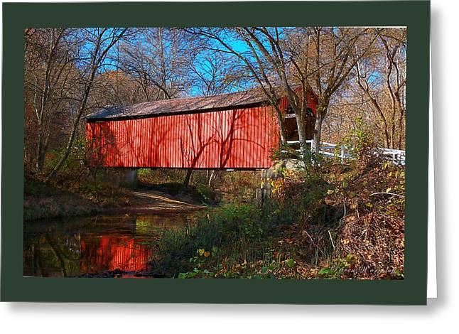 Sandy /creek Covered Bridge, Missouri Greeting Card