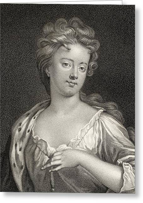 Sarah Jennings Duchess Of Marlborough Greeting Card