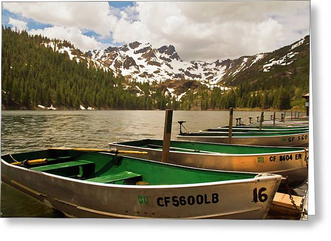 Sardine Lake Greeting Card