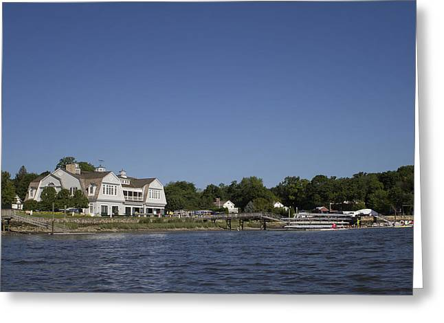 Saugatuck Rowing Club Westport Ct Greeting Card