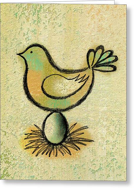 Savings Greeting Card by Leon Zernitsky