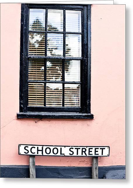 School Street Greeting Card