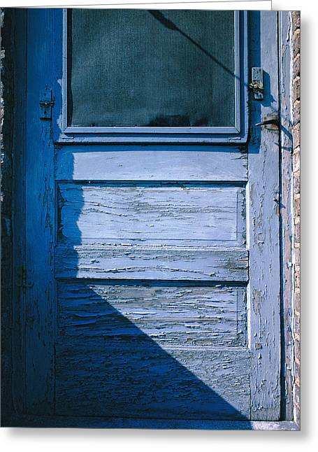 Screen Door Greeting Card by Thomas Firak