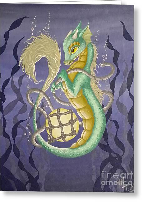 Sea Dragon II Greeting Card