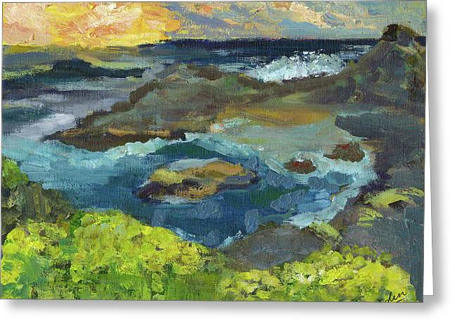Seal Cove By Eden Yuen Grade 3 Greeting Card