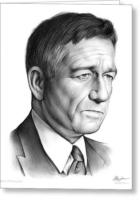 Sean Pertwee Greeting Card