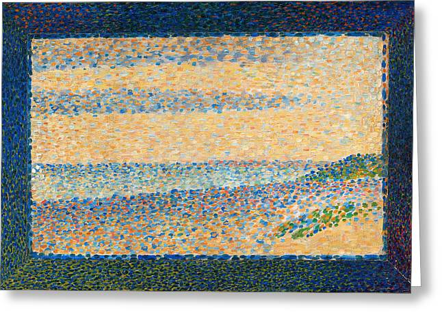 Seascape, Gravelines Greeting Card