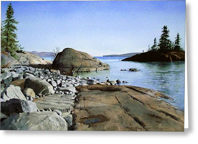 Seclusion Greeting Card by Douglas Hunt
