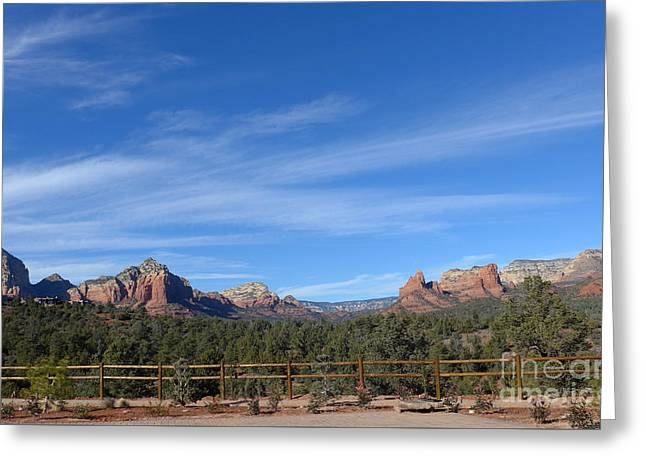 Sedona Beauty  Greeting Card by Marlene Rose Besso
