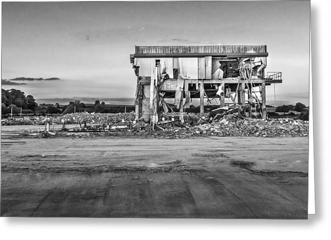 Greeting Card featuring the photograph Seen Better Days by Nick Bywater