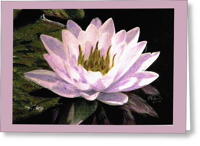 Serenity Greeting Card by Angela Davies